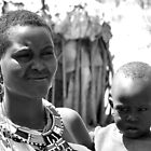 Samburu Mother and Child by Jemma Assender