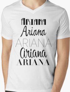 Ariana Grande - Era Logos Mens V-Neck T-Shirt
