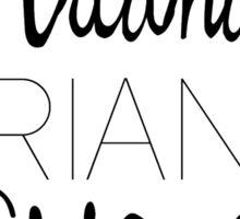 Ariana Grande - Era Logos Sticker