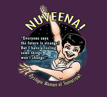 Nuveena! (With quote) Womens Fitted T-Shirt