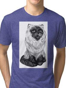 Mister Meow Tri-blend T-Shirt