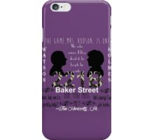 Sherlock Quotes Collage iPhone Case/Skin
