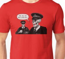 Skeleton Police (Red) Unisex T-Shirt