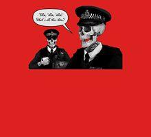 Skeleton Police (Red) Unisex T-Shirt