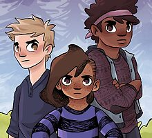OUTGROUP - tough kids by Maddie Chaffer