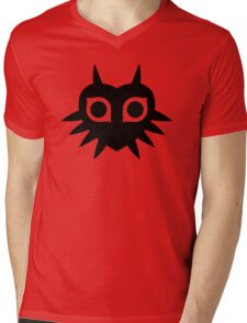 Majora's Mask Silhouette Mens V-Neck T-Shirt
