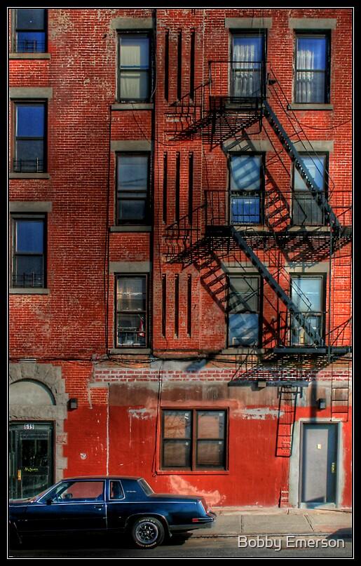Brooklyn Building by Bobby Emerson