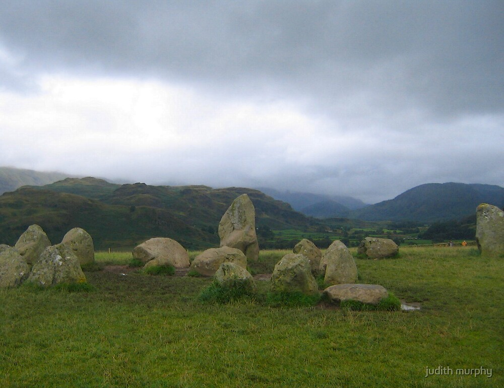 Castlerigg stone circle, Cumbria by judith murphy