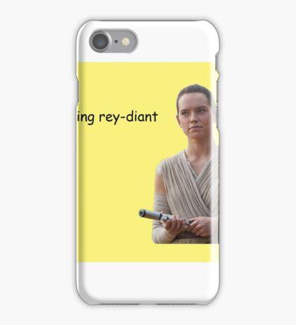 ur looking rey-diant iPhone Case/Skin