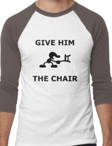 Mr. game and watch give him the chair Men's Baseball ¾ T-Shirt