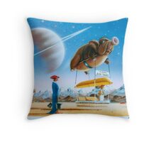 Titan Taxi Throw Pillow