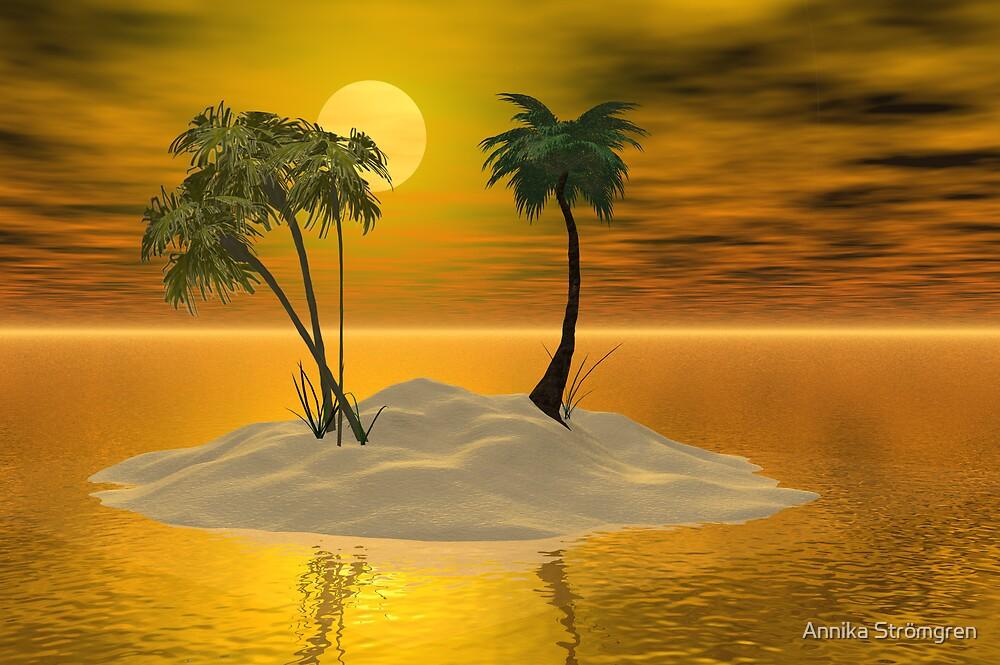 Paradise island by Annika Strömgren