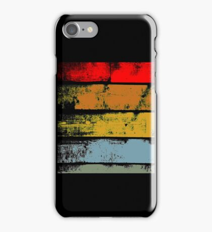 Retro Wood iPhone Case/Skin