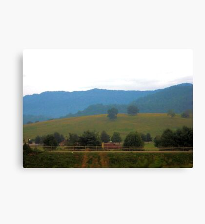Rolling Canvas Print
