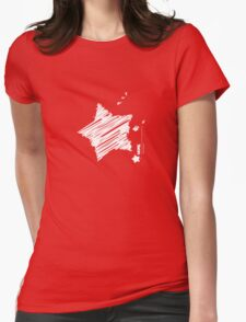 more-scribble Womens Fitted T-Shirt