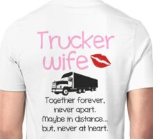 Trucker Wife - Pink Unisex T-Shirt