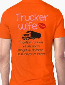 Trucker Wife - Pink T-Shirt