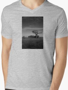 The Rihanna Tree, Monochrome! Mens V-Neck T-Shirt