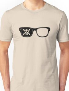 Hipster Pirate Unisex T-Shirt