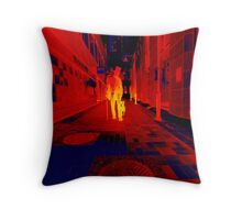 infraRED Throw Pillow