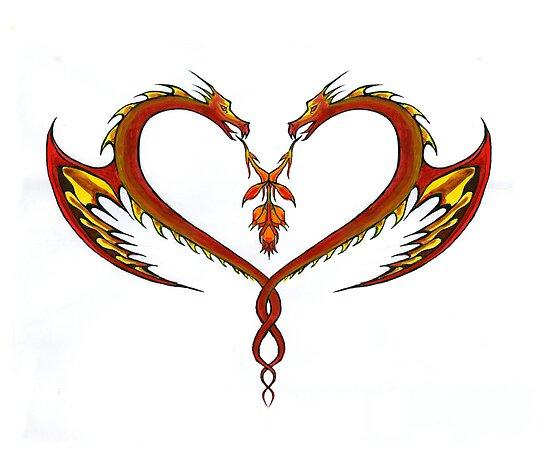 Dragon Love by crackgerbal