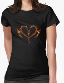 Dragon Love Womens Fitted T-Shirt