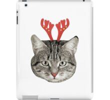 Red Nose Reindeer Cat! iPad Case/Skin