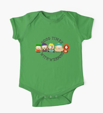 good times with weapons south park One Piece - Short Sleeve