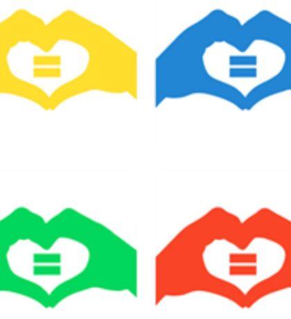 LGBT equality Australia Sticker