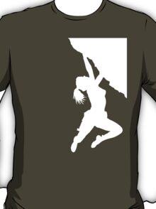 girl bouldering T-Shirt