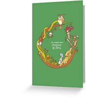 The Legend of Zelda: Ocarina of Time Greeting Card