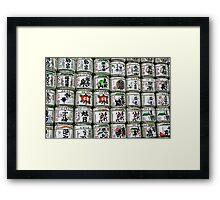 Meiji Jingu Shinto Shrine Tokyo - Sake Offering Framed Print