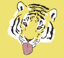 Snowflake Tiger Kids Clothes