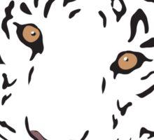 Snowflake Tiger Sticker