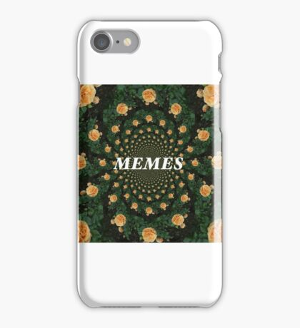 kaleidoscope flower memes iPhone Case/Skin