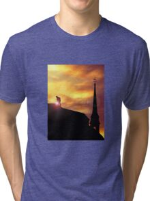 Working on the Sky Tri-blend T-Shirt