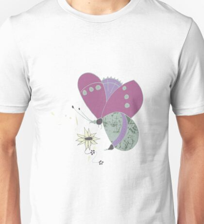 Meadow Butterfly Unisex T-Shirt