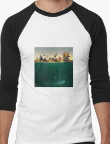 Fishing Men's Baseball ¾ T-Shirt