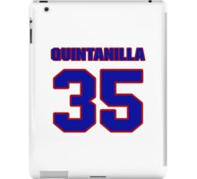 National baseball player Omar Quintanilla jersey 35 iPad Case/Skin