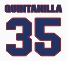 National baseball player Omar Quintanilla jersey 35 by imsport