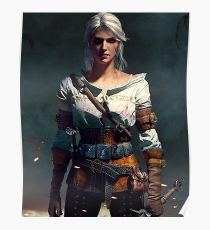 The Witcher 3 WILD HUNT - Ciri Poster