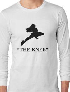 "Captain Falcon ""The Knee"" Long Sleeve T-Shirt"