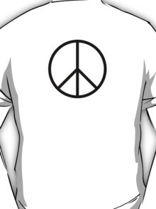 Peace symbol, CND, Campaign for Nuclear Disarmament, Ban the Bomb, T-Shirt