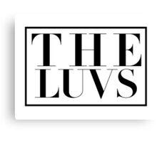 The Luvs Canvas Print