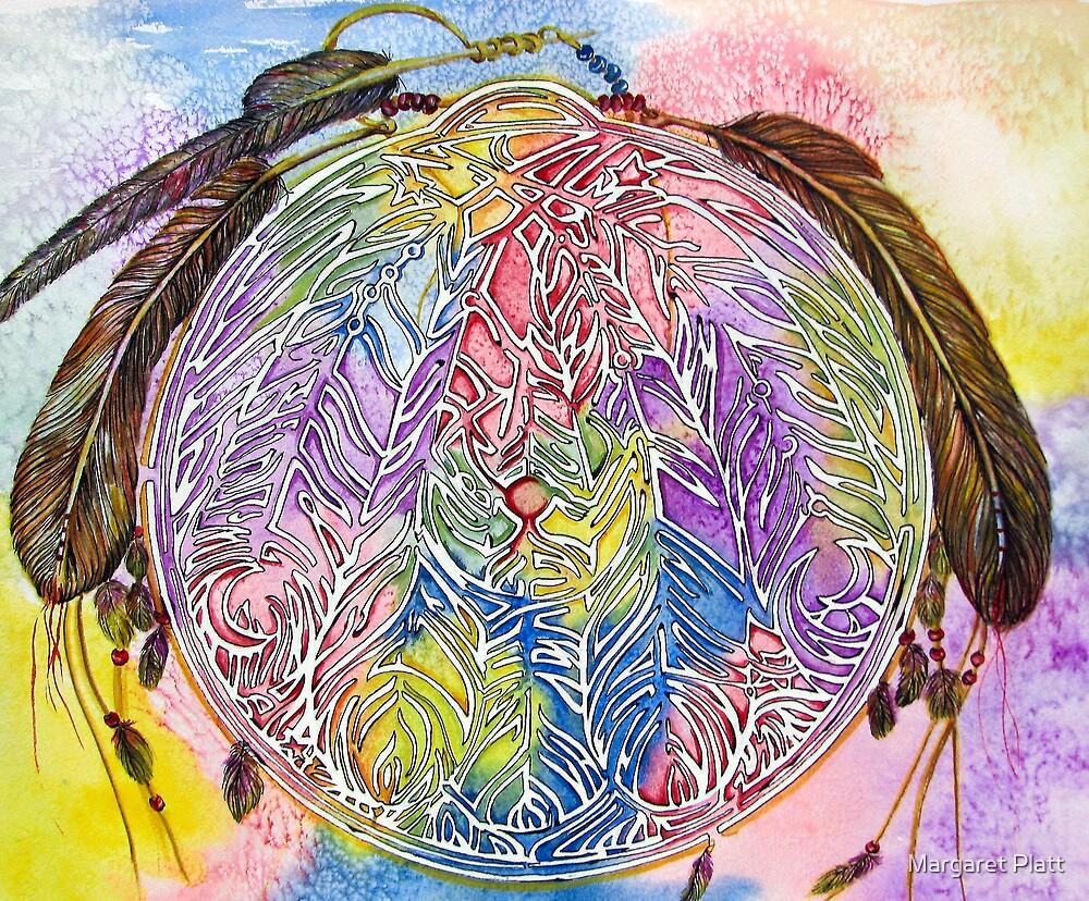 Watercolor Mandala by Margaret Platt