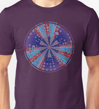 Psychedelic Kaleidoscope Pattern Unisex T-Shirt