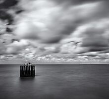 Entrance to Whitstable Harbour by Stuart  Gennery