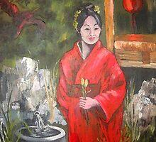 Japanese Tea Garden by Ruth Palmer