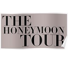 The Honeymoon Tour Poster