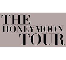 The Honeymoon Tour Photographic Print